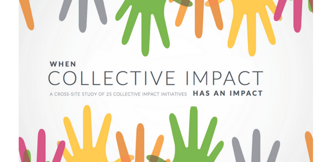 when collective impact has impact a cross site study of 25